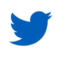 Blue Twitter icon